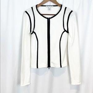 Cotton by Autumn Cashmere Black & White Sweater